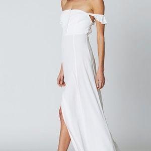 Flynn Skye Bardot in White sz Medium - Never Worn